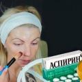 Аспіринова маска для обличчя - 2.