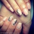 Дизайн нарощених нігтів гелем фото