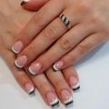 Гелеве нарощування нігтів дизайн