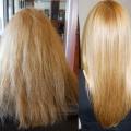 Як робити ламінування волосся?