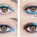 Як фарбувати очі олівцем.