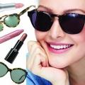 Як поєднувати оправу окулярів і відтінок помади?