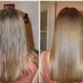 Маска з ефектом ламінування волосся?