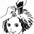 Метод фарбування волосся - тіні і світло