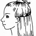 Стрижка асиметрична середньої довжини