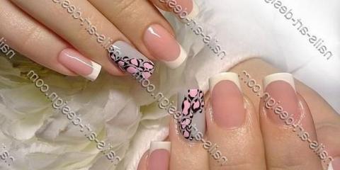 Дизайн нарощених гелем нігтів