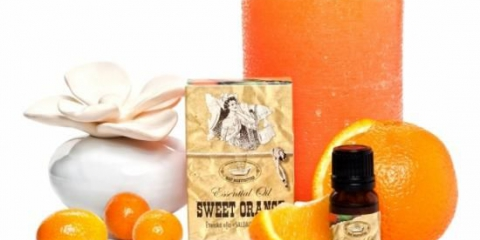 Ефірна олія апельсина для краси особи