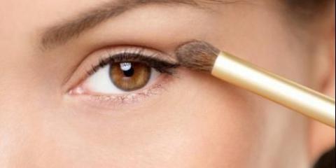 Як фарбувати маленькі очі.