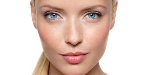 Як підкреслити сірі очі з блакитним відтінком