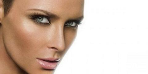 Як підкреслити зелені очі з відтінком сірого