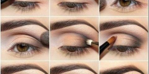 Як правильно фарбувати куточки очей тінями.
