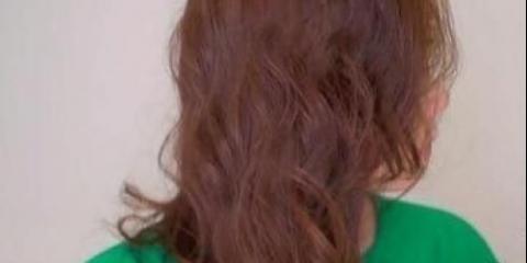 Як зробити красиву високу зачіску!