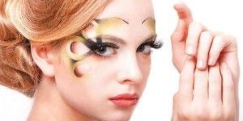 Карандашная техніка в макіяжі