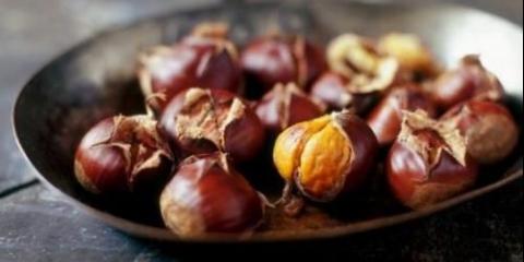 Каштан - це єдиний горіх з вітаміном с!