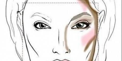 Корекція: квадратне обличчя.