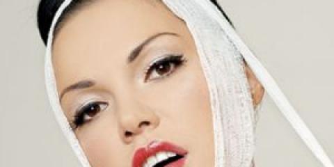 Корекція овалу обличчя за допомогою макіяжу