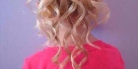 Красива зачіска для дівчинки: