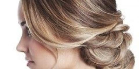 Красива вечірня зачіска - покрокова інструкція