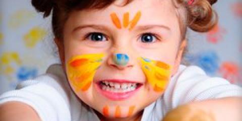 Красиві малюнки на обличчі - ідеї фейс-арту для дівчаток