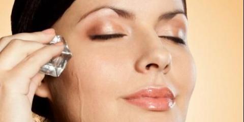 Кубики льоду для повного догляду за новою шкірою обличчя - подарують свіжість, сяйво вашій шкірі.