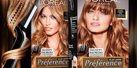 Loreal ombre - найкраща фарба для фарбування волосся
