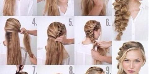 Кращі уроки зачісок на кожен день:
