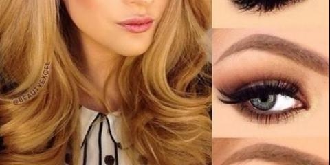 # Макіяж # красота.правільная послідовність нанесення яскравого макіяжу: