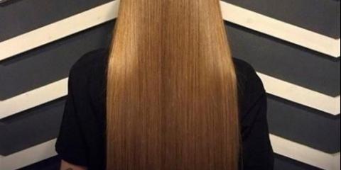 Маска для росту волосся з вітамінами а й е.