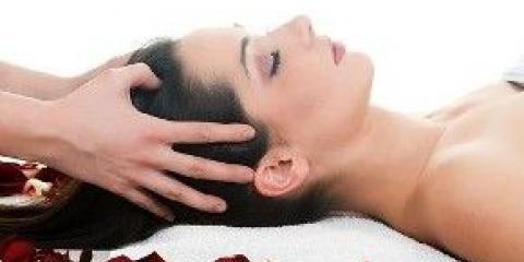 Масаж шкіри голови від випадіння та для росту волосся