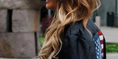 Модне фарбування волосся 2016 60 фото