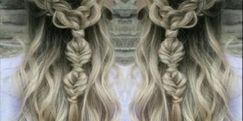 Модні тенденції укладання та фарбування волосся.
