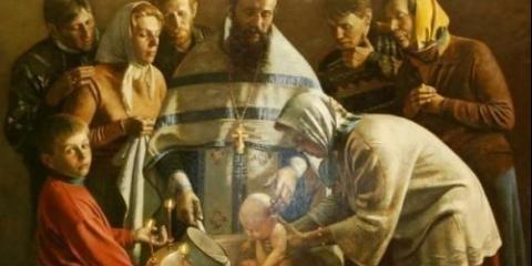 Молитви хресних за своїх хрещеників.