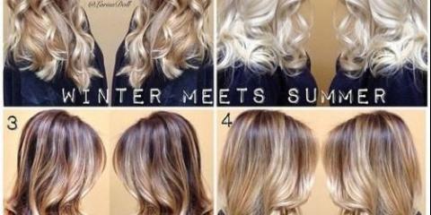 Ми освітлюється волосся на два - три тони за допомогою.