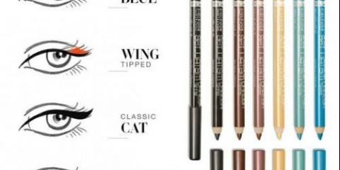 Ми вибираємо олівець для очей: 6 рад.