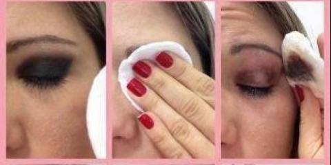 Знежирений засіб для зняття косметики з очей?