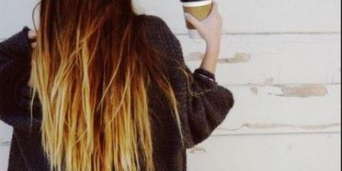 Омбр на темне волосся - 30 ідей для фарбування