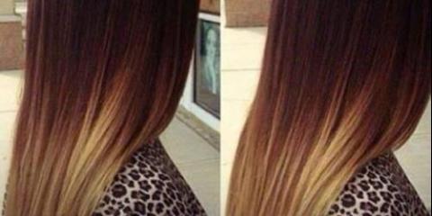 Освітлення волосся корицею.