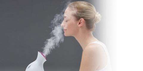 Парові ванночки для обличчя очищають шкіру