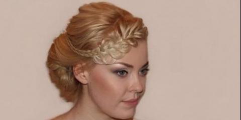 Покроковий фото майстер-клас розкішної зачіски.