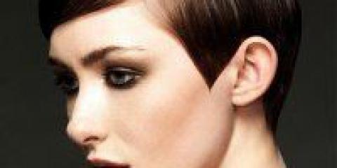 Святкова укладання для короткого волосся