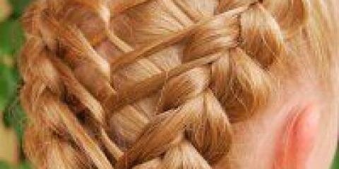 Зачіска для дівчинки на випускний