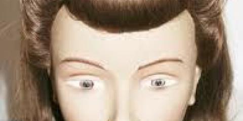 """Зачіска """"помпадур"""""""