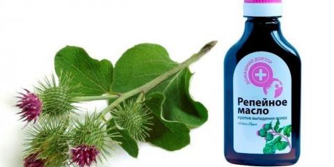 Застосування реп`яхової олії для волосся