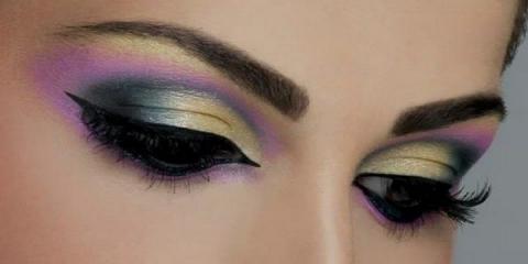 Стильний арабський макіяж