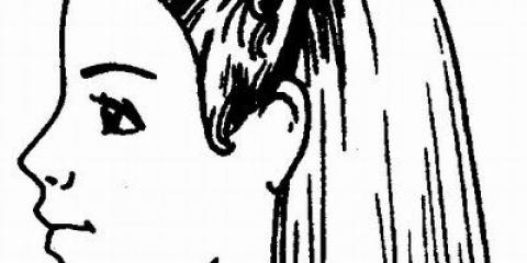 Стрижка середньої довжини з пишним потилицею