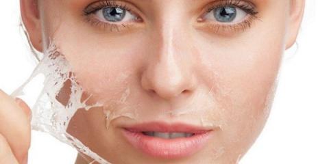 Догляд за обличчям за допомогою маски-плівки