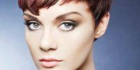 Укладання на коротке волосся 2012