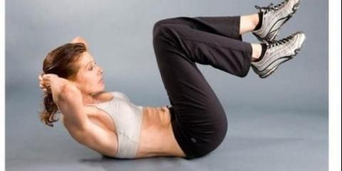 Вправи, які позбавлять від живота і боків.