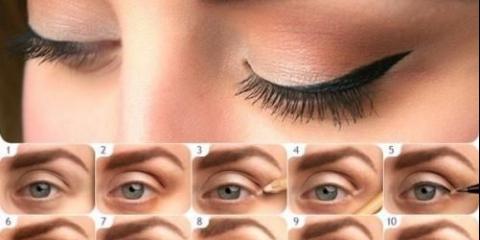 Уроки макіяжа.маленькій секрет для акуратних стрілок в макіяжі очей.