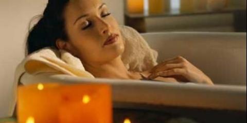 Вечірня заспокійлива ванна: